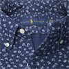 710740851 - Newport Flower Short Sleeved Shirt - Skjorter - Regular - NAVY - 3