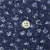 710740851 - Newport Flower Short Sleeved Shirt - Skjorter - Regular - NAVY - 4