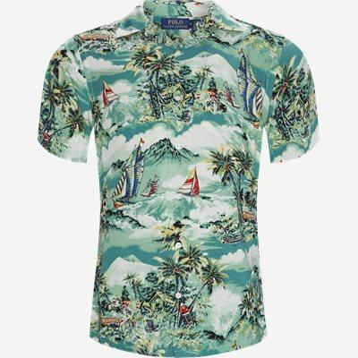 Andy Camp Kortærmet Skjorte  Regular | Andy Camp Kortærmet Skjorte  | Blå
