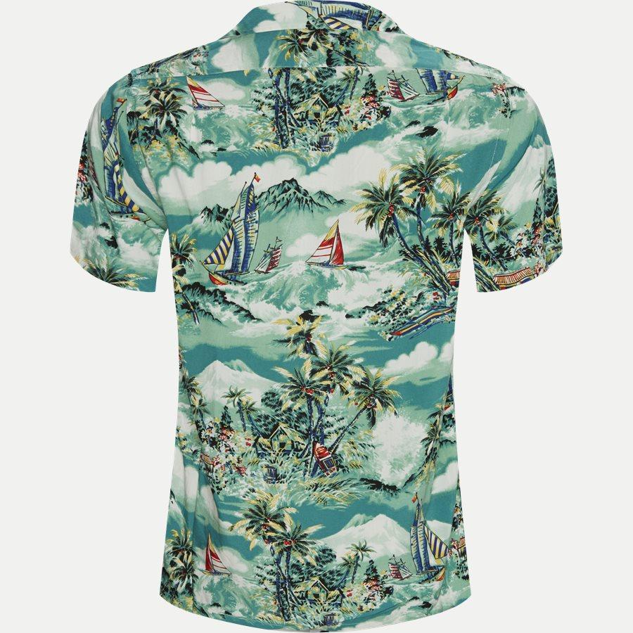 710742191 - Andy Camp Kortærmet Skjorte  - Skjorter - Regular - BLÅ - 2