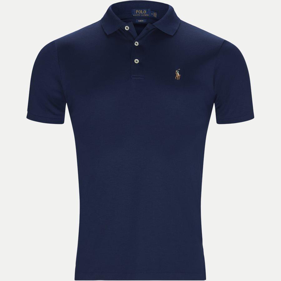 710652578, - Classic Soft Polo - T-shirts - Slim - BLÅ - 1