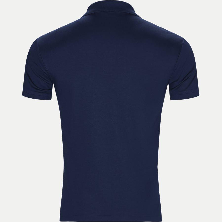 710652578, - Classic Soft Polo - T-shirts - Slim - BLÅ - 2