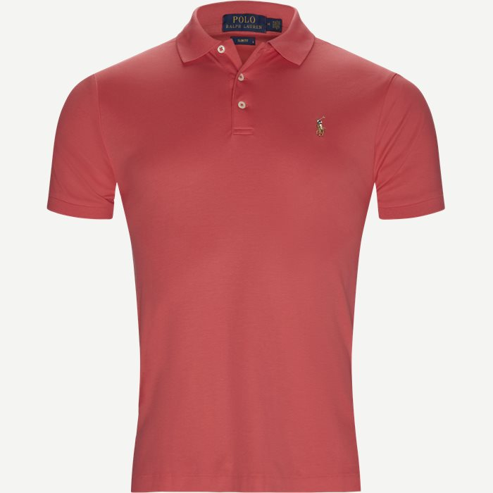 Classic Soft Polo - T-shirts - Slim - Rød