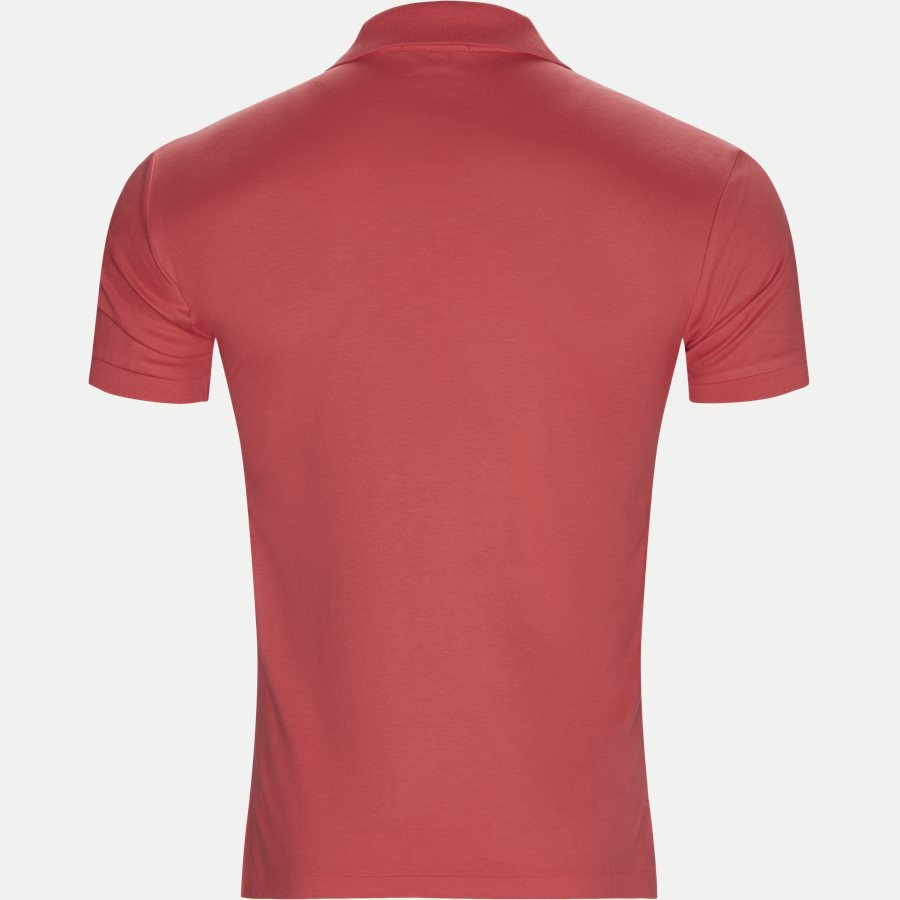 710652578, - Classic Soft Polo - T-shirts - Slim - CORAL - 2