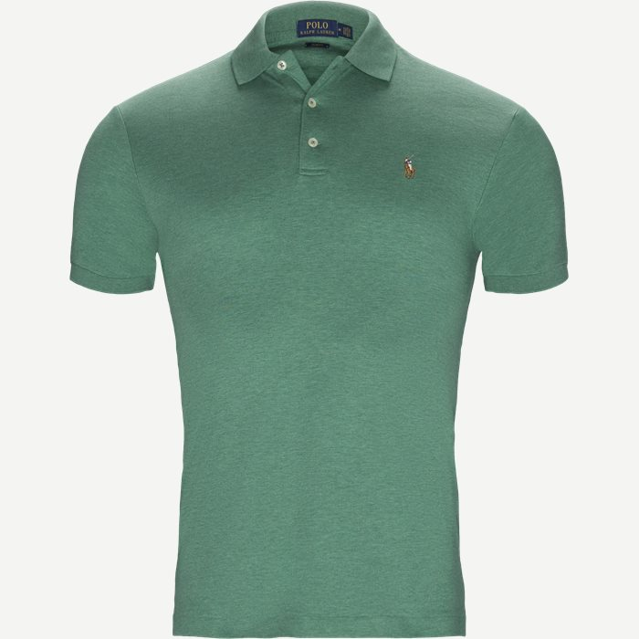 Classic Soft Polo - T-shirts - Slim - Grøn