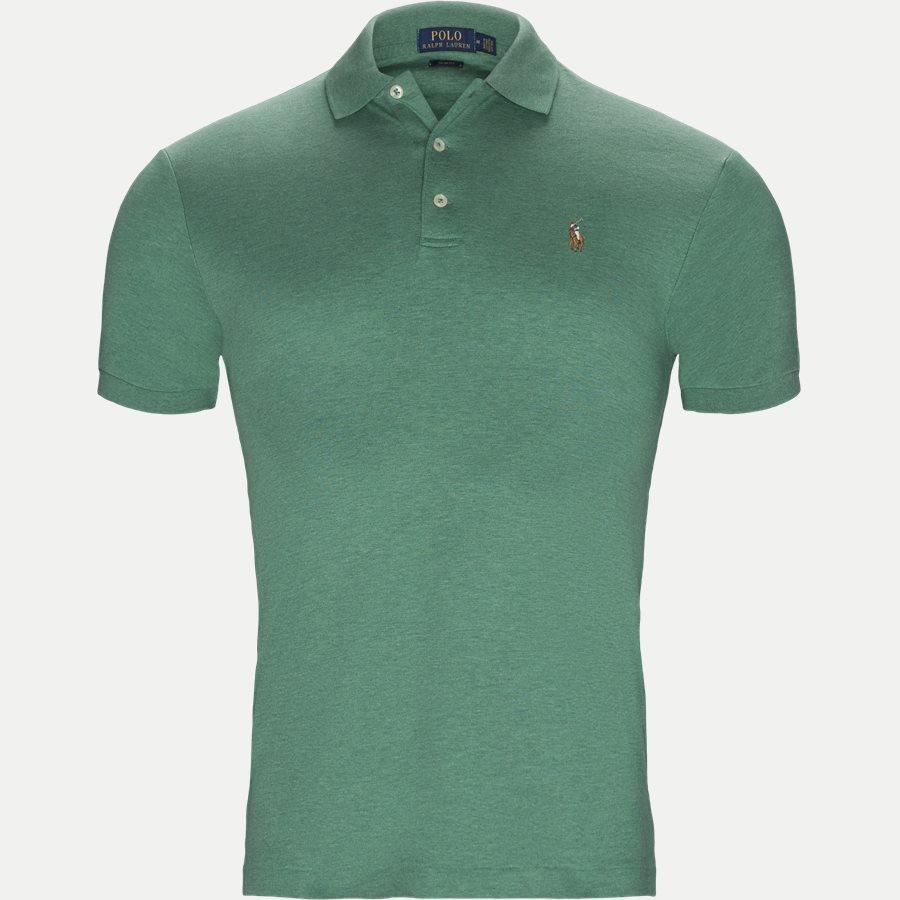 710652578 - Classic Soft Polo - T-shirts - Slim - GRØN - 1