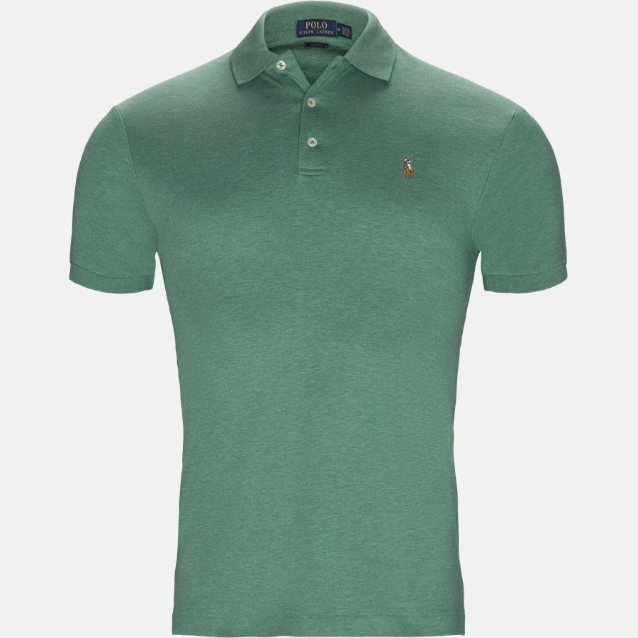 710652578, - Classic Soft Polo - T-shirts - Slim - GRØN - 1