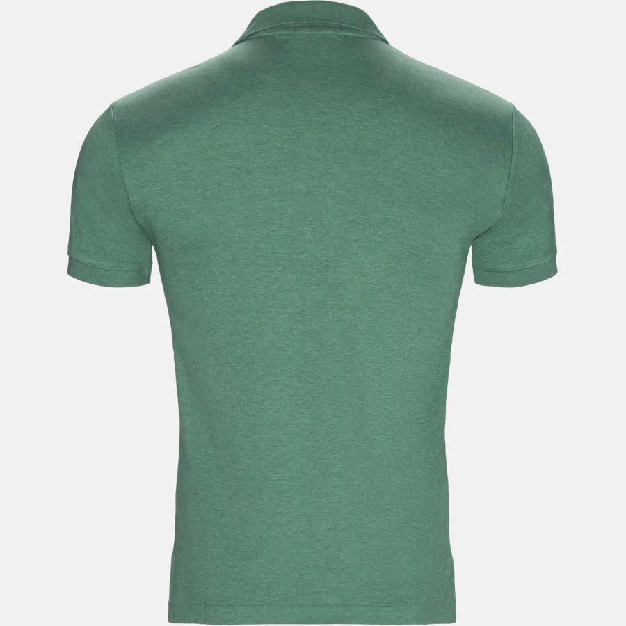 710652578 - Classic Soft Polo - T-shirts - Slim - GRØN - 2