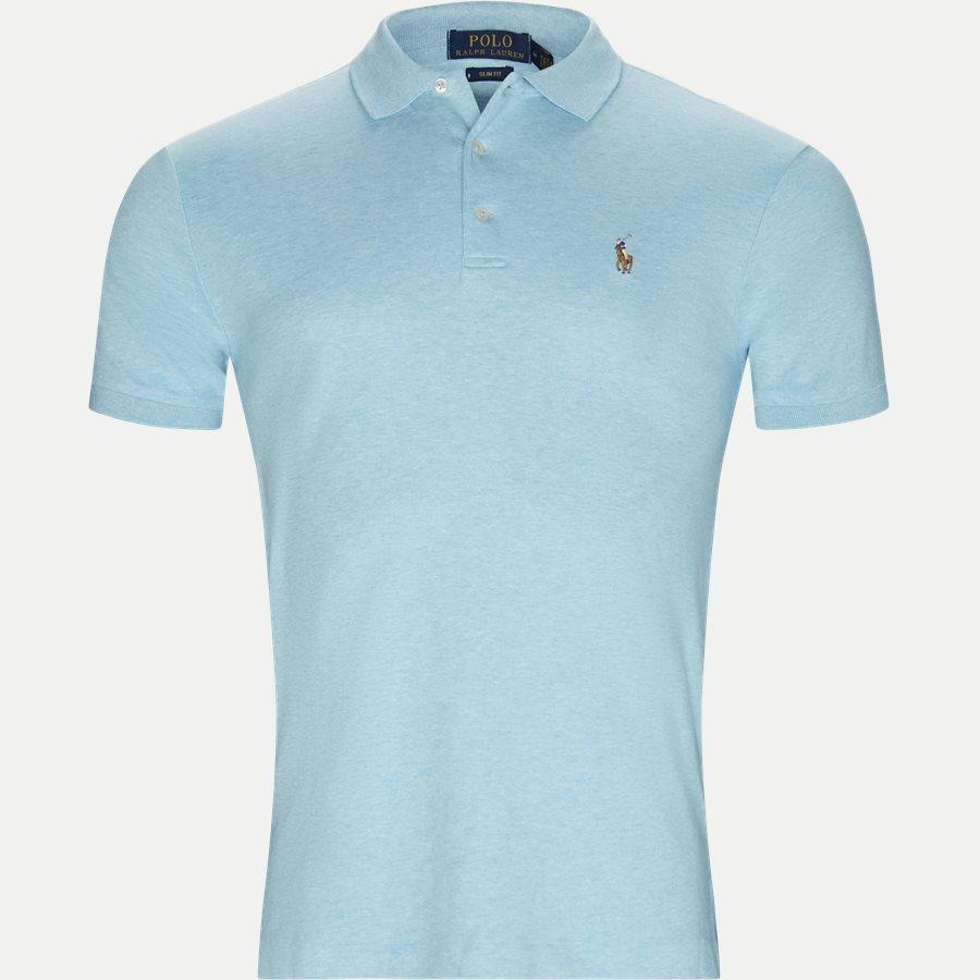 710652578 - Classic Soft Polo - T-shirts - Slim - TURKIS - 1