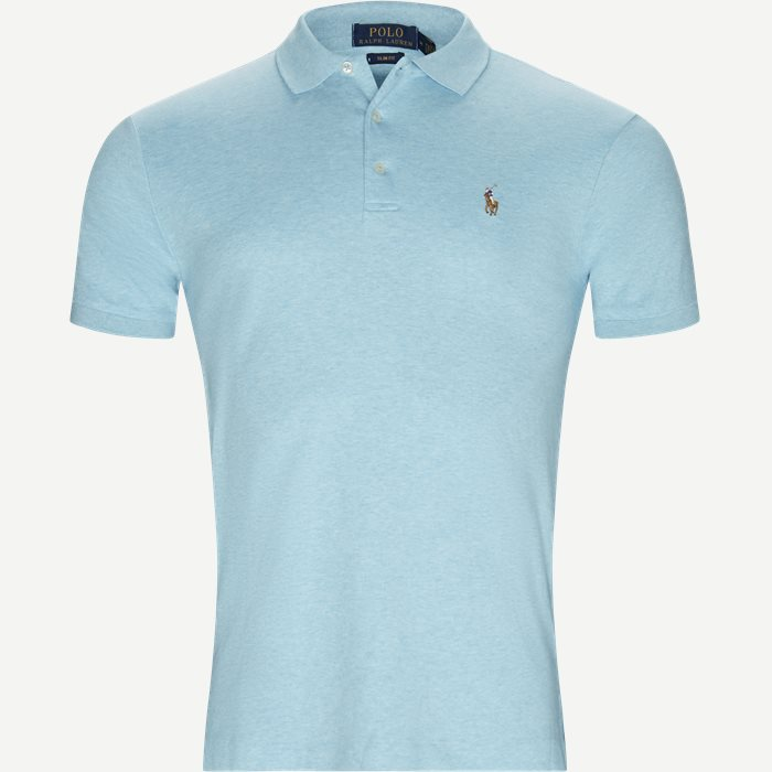Classic Soft Polo - T-shirts - Slim - Turkis
