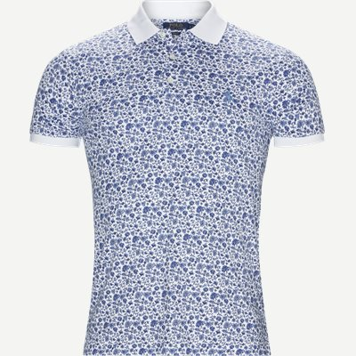 Interlock Polo t-shirt Slim   Interlock Polo t-shirt   Hvid