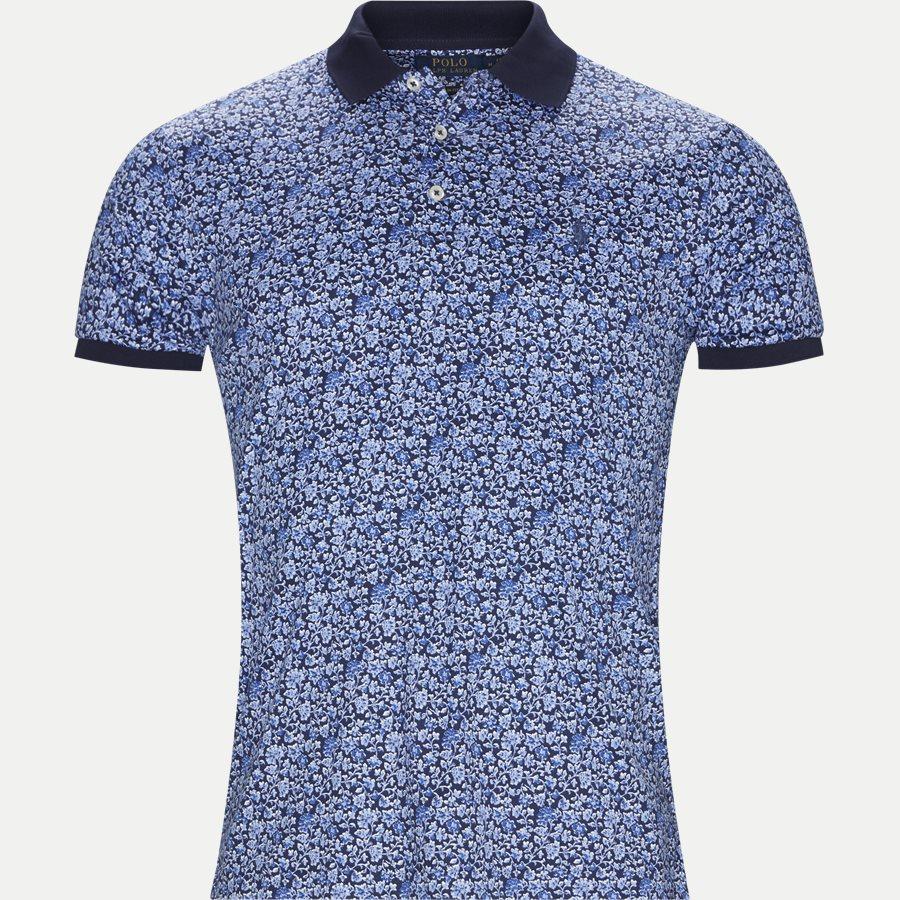 710744899 - Interlock Polo t-shirt - T-shirts - Slim - NAVY - 1