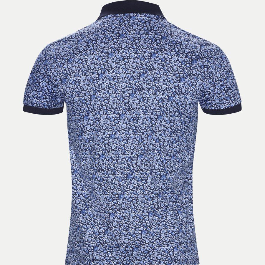 710744899 - Mønstret Polo t-shirt - T-shirts - NAVY - 2