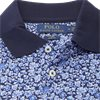 710744899 - Mønstret Polo t-shirt - T-shirts - NAVY - 5