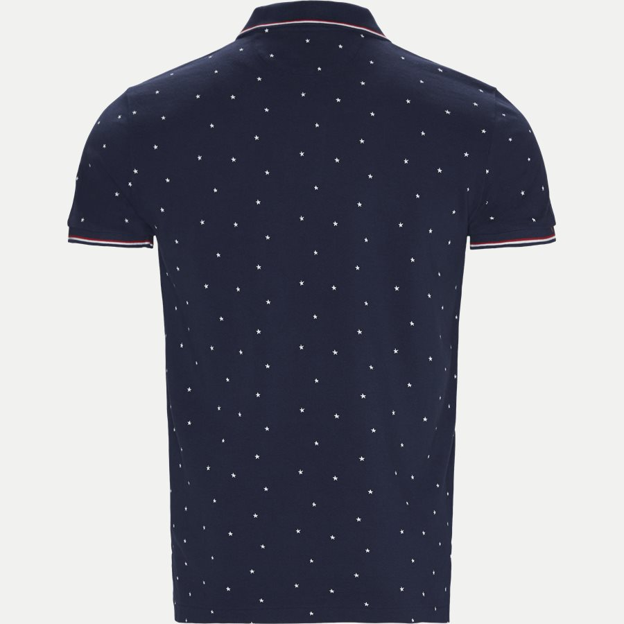 710720813 - Short Sleeve Pique Polo - T-shirts - Regular slim fit - DENIM - 2