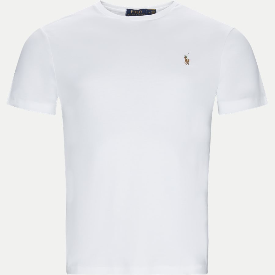 710740727 - Classic Crew Neck T-shirt - T-shirts - Regular slim fit - HVID - 1
