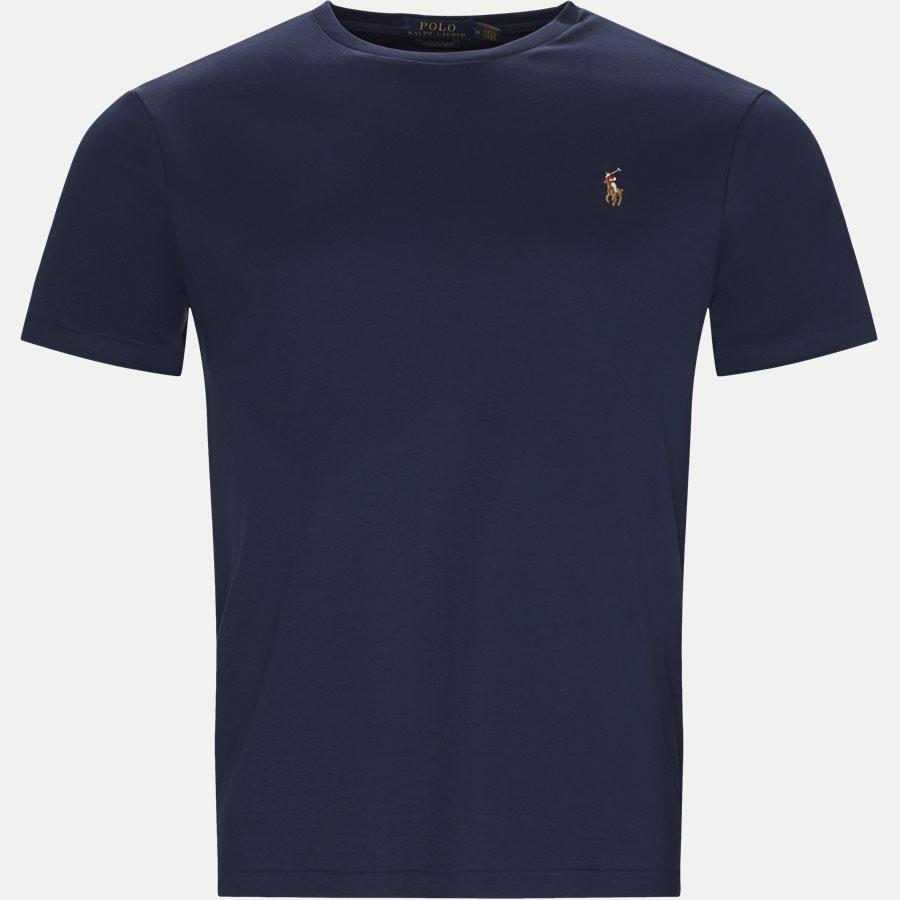 710740727 - Classic Crew Neck T-shirt - T-shirts - Regular slim fit - NAVY - 1