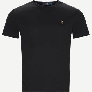 Classic Crew Neck T-shirt Regular slim fit   Classic Crew Neck T-shirt   Sort