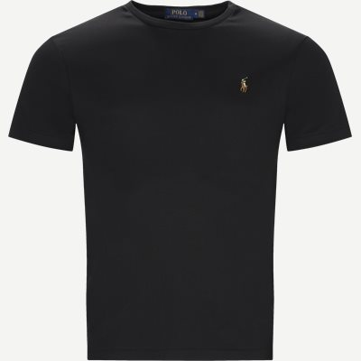 Classic Crew Neck T-shirt Regular slim fit | Classic Crew Neck T-shirt | Sort