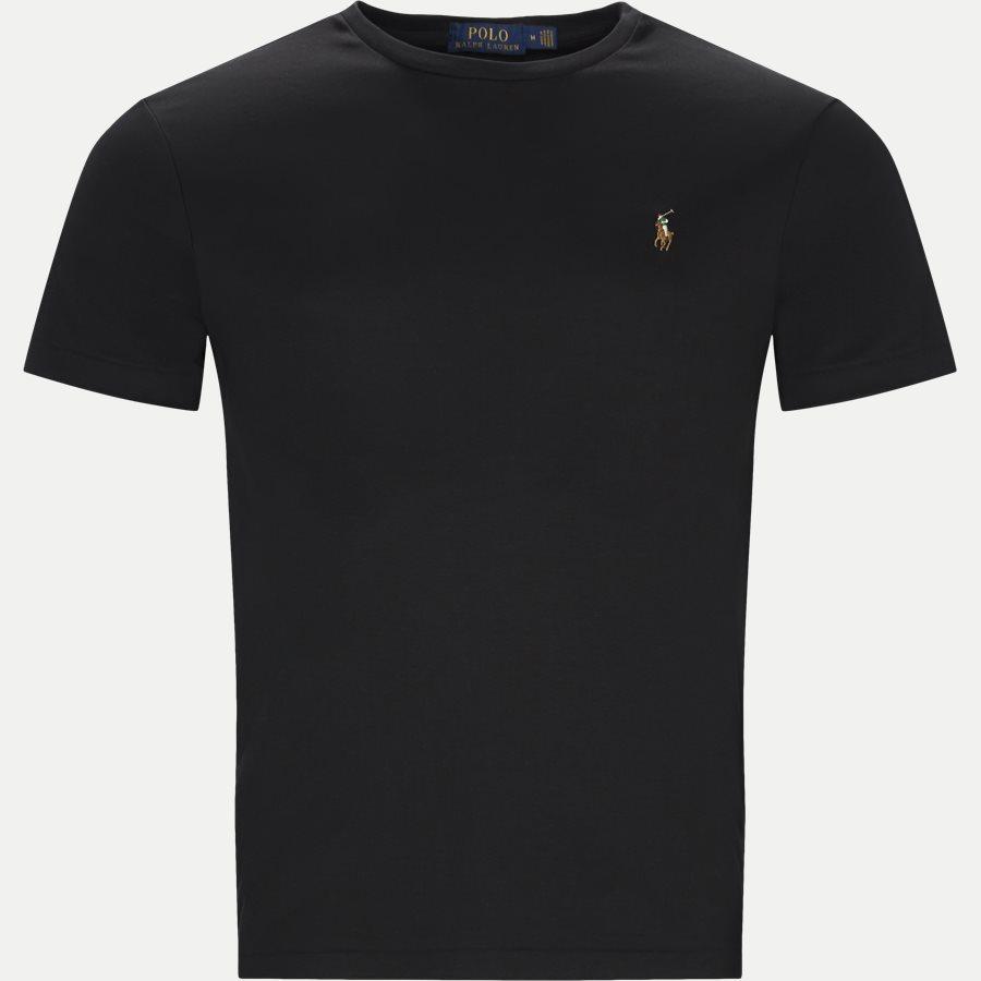 710740727 - Classic Crew Neck T-shirt - T-shirts - Regular slim fit - SORT - 1