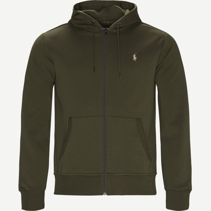 Tech Full Zip Hoodie Stadium - Sweatshirts - Regular - Army