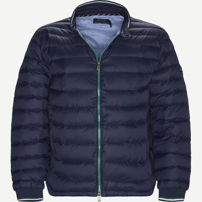 Light Weight Down Jacket - Jakker - Regular - Blå