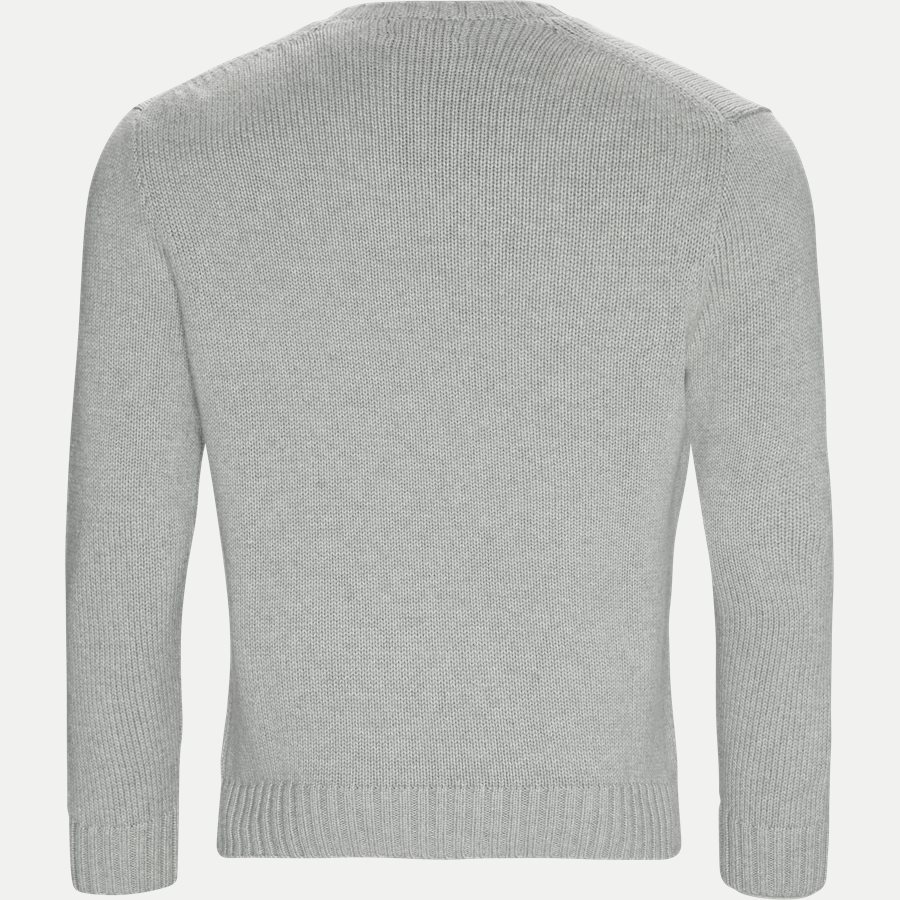 710727573 - Crew Neck Jumper - Strik - Regular - GRÅ - 2