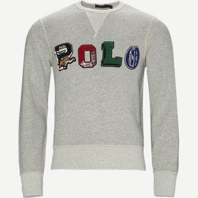Fleece Graphic Sweatshirt Regular   Fleece Graphic Sweatshirt   Grå