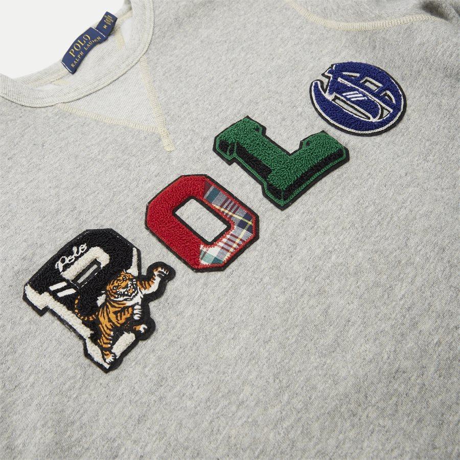 710740939 - Fleece Graphic Sweatshirt - Sweatshirts - Regular - GRÅ - 3
