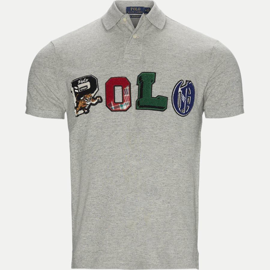 b06ba0c15a9 710740938 - Graphic Polo T-shirt - T-shirts - Regular slim fit -