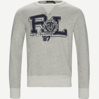 Fleece Graphic Sweatshirt Regular | Fleece Graphic Sweatshirt | Grå