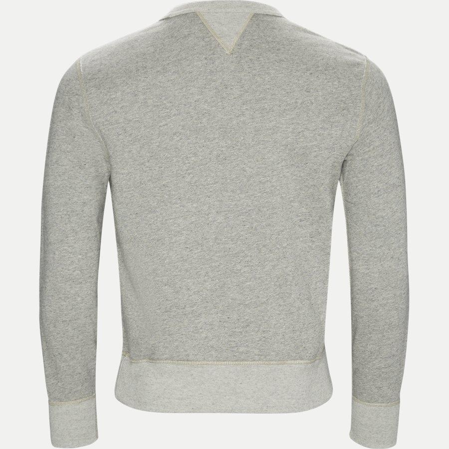 710740958 - Fleece Graphic Sweatshirt - Sweatshirts - Regular - GRÅ - 2