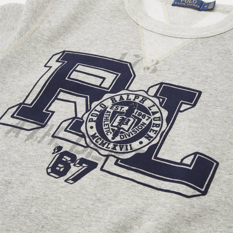 710740958 - Fleece Graphic Sweatshirt - Sweatshirts - Regular - GRÅ - 4