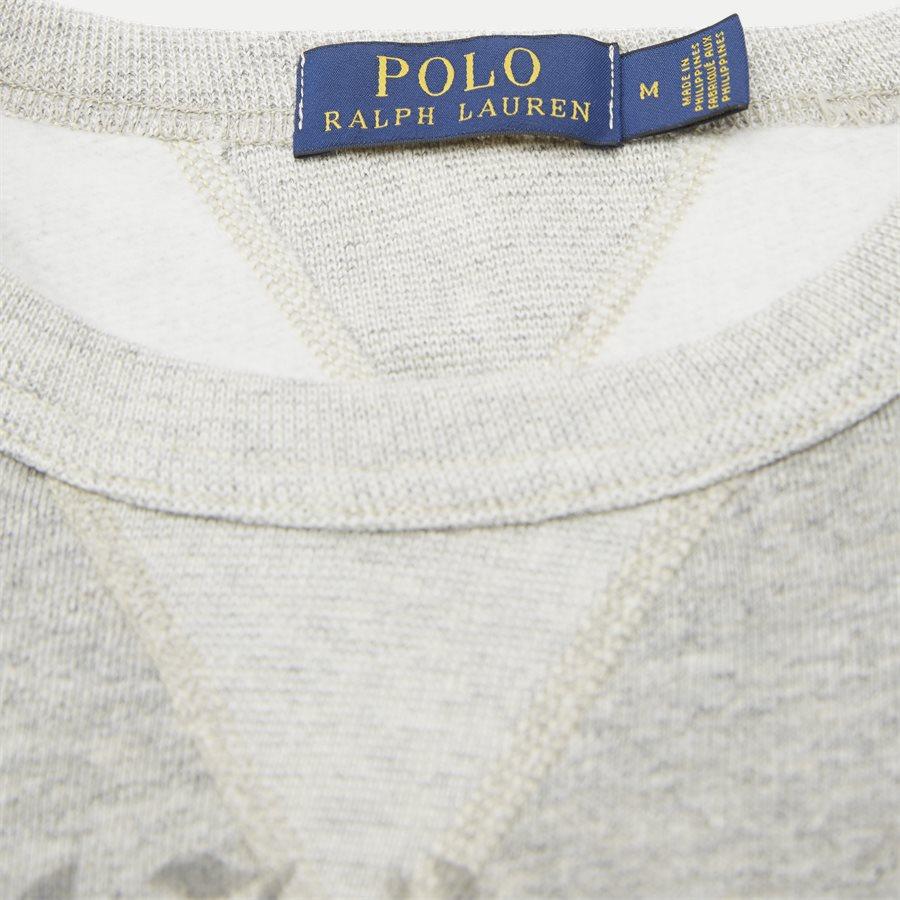 710740958 - Fleece Graphic Sweatshirt - Sweatshirts - Regular - GRÅ - 5