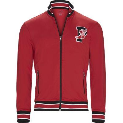 M P-Wing 1 Zip Sweatshirt Regular   M P-Wing 1 Zip Sweatshirt   Rød