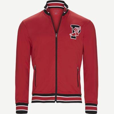 M P-Wing 1 Zip Sweatshirt Regular | M P-Wing 1 Zip Sweatshirt | Rød