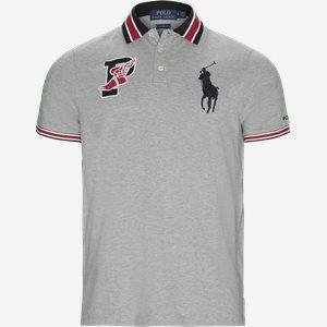 Wing Logo Polo Shirt Regular | Wing Logo Polo Shirt | Grå