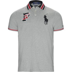 Wing Logo Polo Shirt Regular | Wing Logo Polo Shirt | Grå