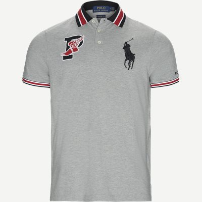 P-Wing Logo Polo Shirt Regular | P-Wing Logo Polo Shirt | Grå