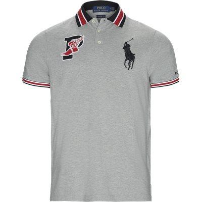 P-Wing Logo Polo Shirt Regular   P-Wing Logo Polo Shirt   Grå