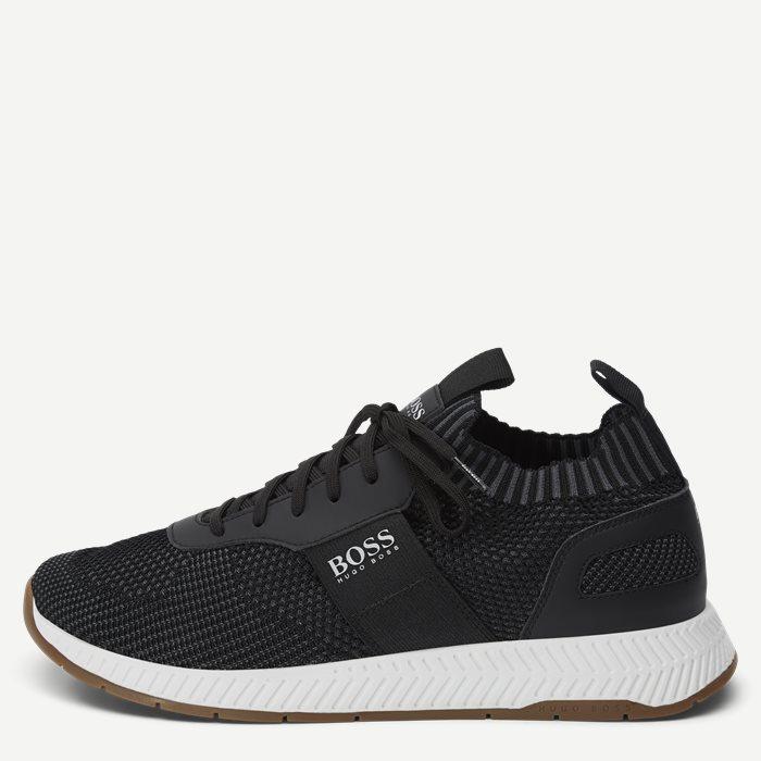 Titanium_Runn Sneaker - Sko - Sort