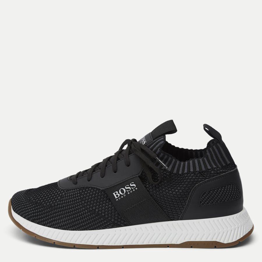 50410743 TITANIUM_RUNN - Titanium_Runn Sneaker - Sko - SORT - 1