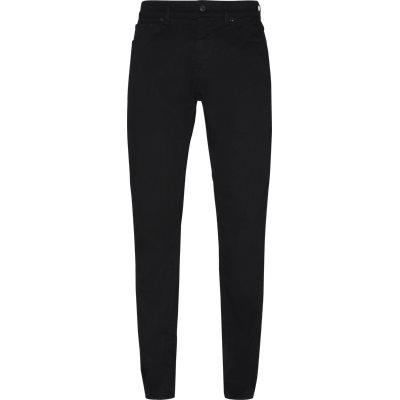 Regular | Jeans | Svart