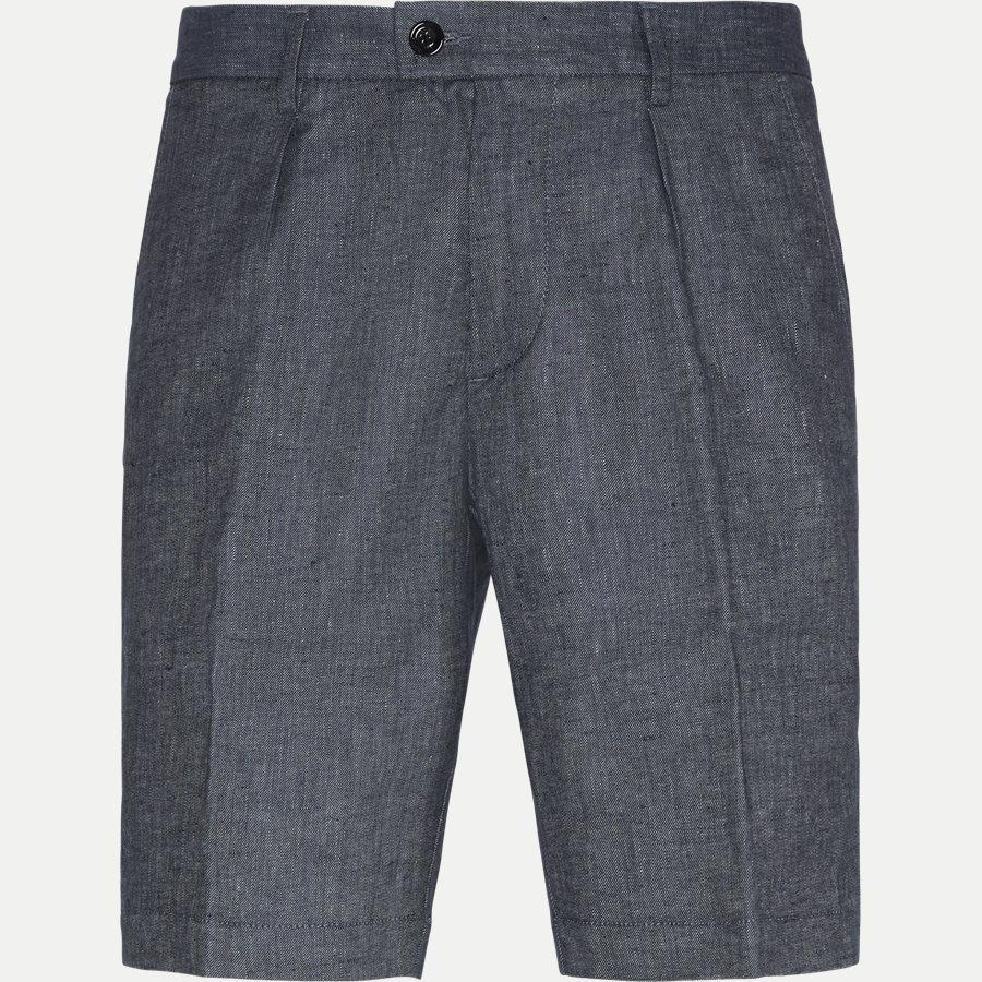50406688 SLICE-SHORT - Slice Short Pleats Shorts - Shorts - Regular - BLÅ - 1