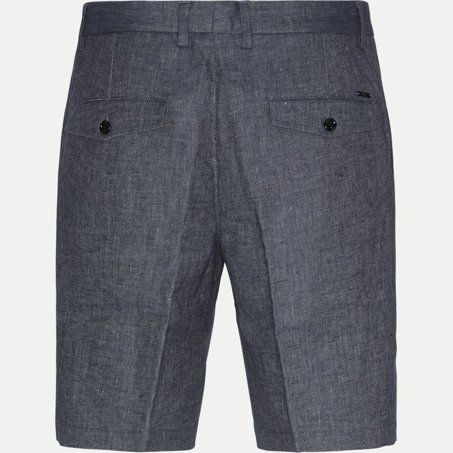 50406688 SLICE-SHORT - Slice Short Pleats Shorts - Shorts - Regular - BLÅ - 2