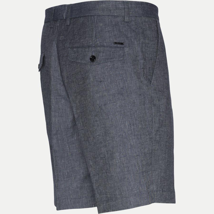 50406688 SLICE-SHORT - Slice Short Pleats Shorts - Shorts - Regular - BLÅ - 3