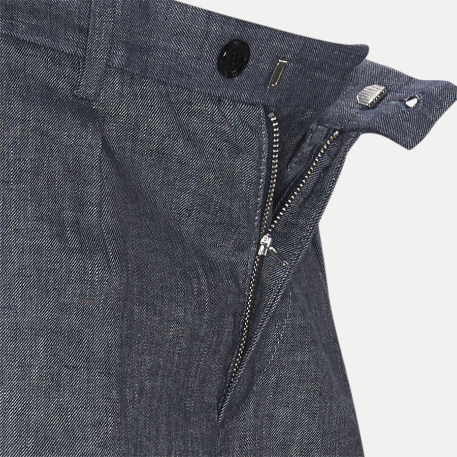 50406688 SLICE-SHORT - Slice Short Pleats Shorts - Shorts - Regular - BLÅ - 4