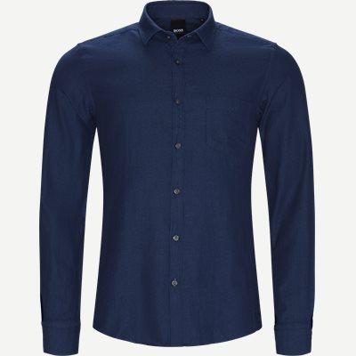 Rikki_P Skjorte Regular | Rikki_P Skjorte | Blå
