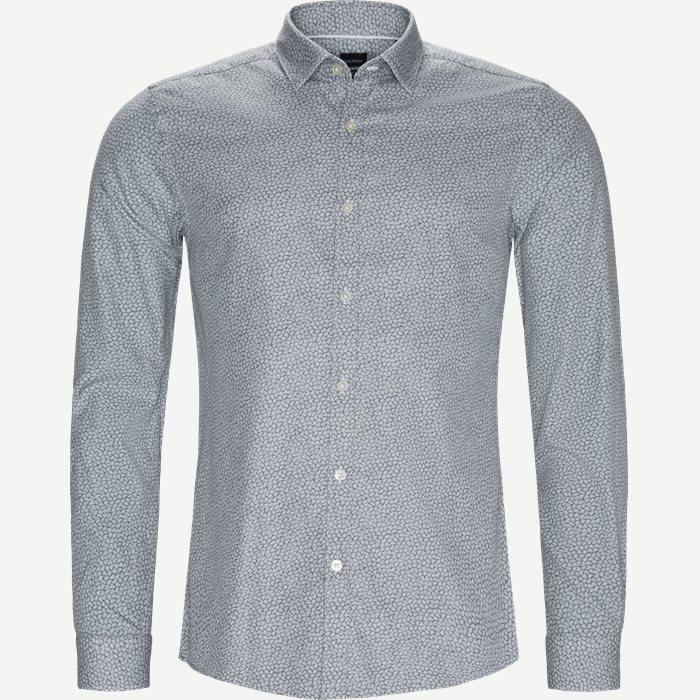 Rikki Skjorte - Skjorter - Slim - Grå