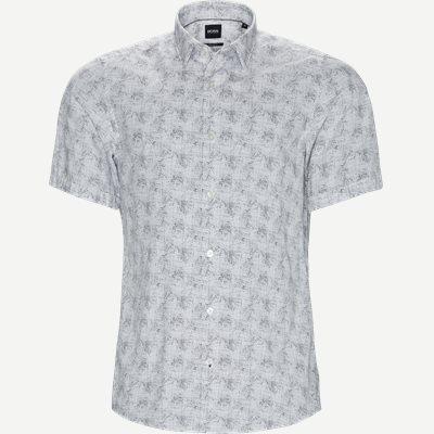 Luka_F Kortærmet Skjorte Regular | Luka_F Kortærmet Skjorte | Hvid